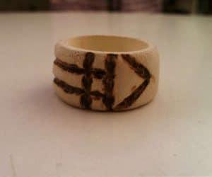 inelul magic Luxor - modelul din lemn