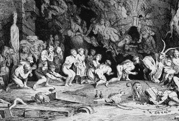 Henri Boguet - vanatorii de vrajitoare - Sabatul negru