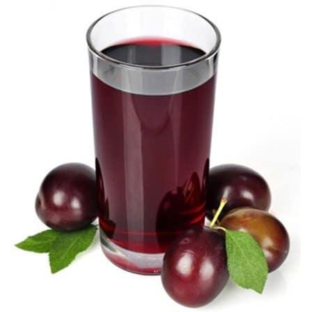 suc de prune fructe alimente bogate in fier