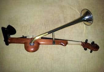 Vioara cu goarna din Bihor