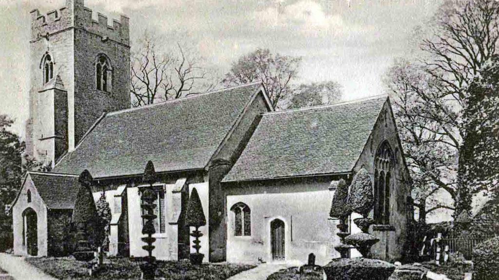 Biserica parohiala din Borley, UK