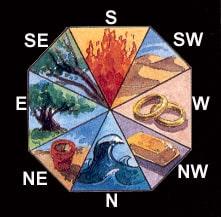 cele cinci elemente feng shui