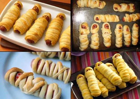 hotdog mumii petreceri halloween