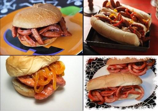 hotdog pentru petreceri halloween