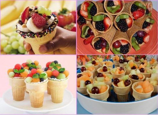 inghetata cu fructe petreceri copii