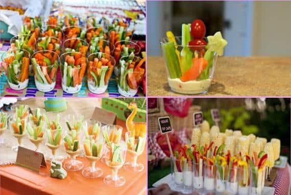 legume colorate pentru petreceri copii