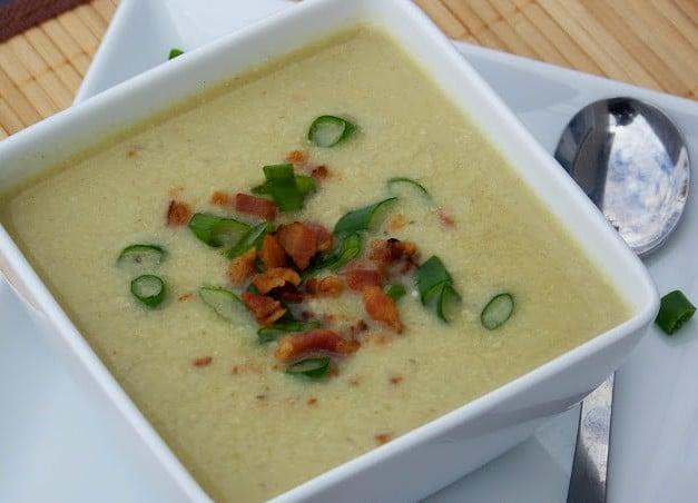 supa de praz -ciorba de praz