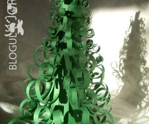 idei-brad-de-craciun-din-fasii-de-carton-verde