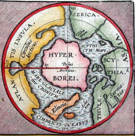 Harta locatie Hyperborea