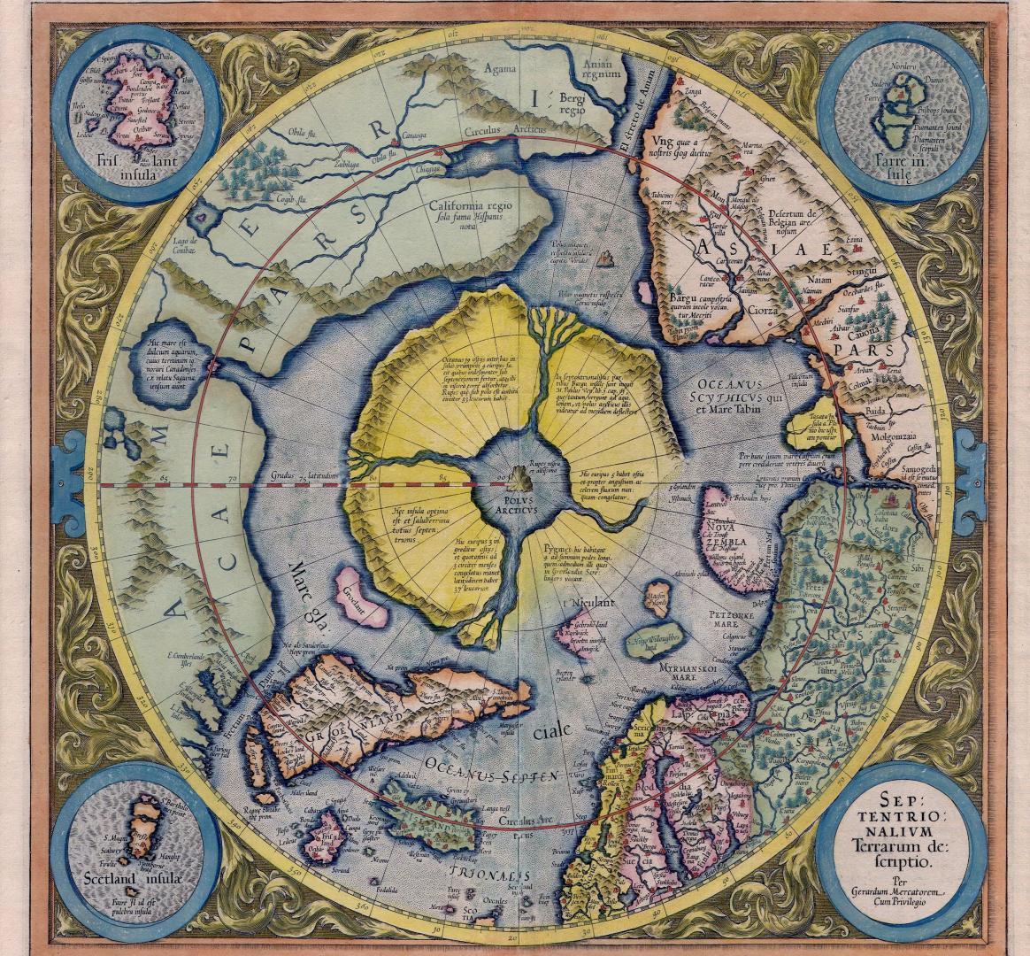 Hyperborea harta spre centrul pamantului