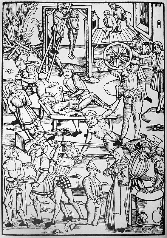 Pedepsirea vrajitoarelor in germania secolul xvi sluptura in lemn de laienspiegel