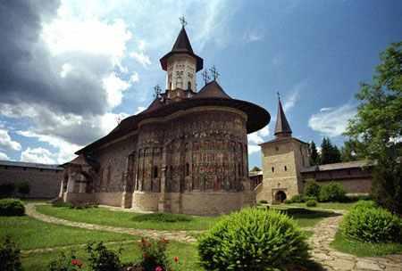 manastiri din Moldova și Bucovina - manastirea Sucevita