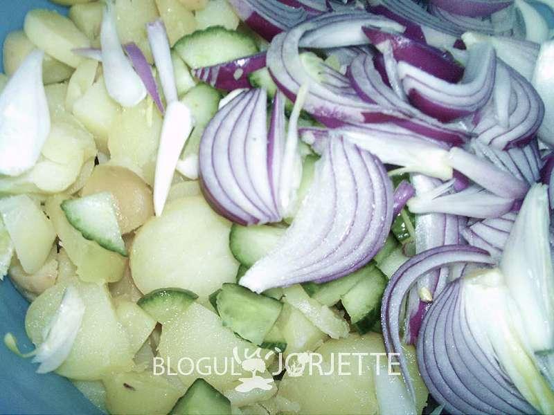 pregatire salata orientala