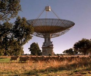 Telescopul Parkes din New South Wales, Australia
