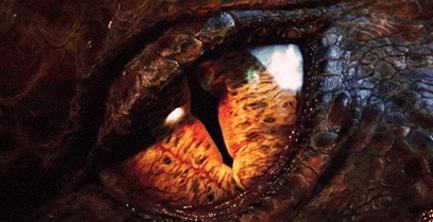 ochiul dragonului Smaug