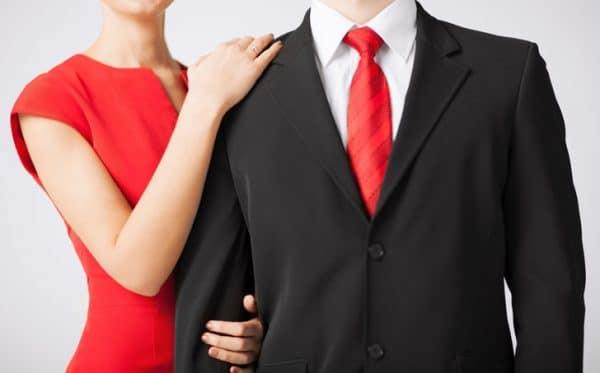 culoarea rosu in cuplu