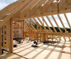 schelet casa pe structura de lemn