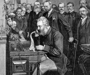 Alexander Graham Bell - fost presedinte la National Geographic 3