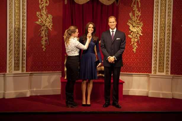 Statuia de ceara a contesei Kate Middleton - ultimele retusari