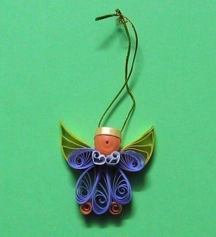 ornament inger pentru brad