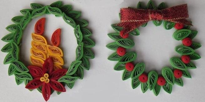 ornamente quilling pentru craciun