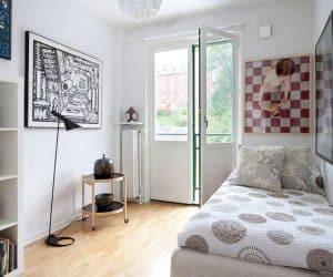 design interior pentru apartamente - dormitor mic dar spatios