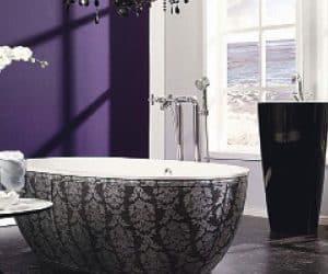 o baie cu personalitate