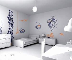 picturi simple pentru dormitor