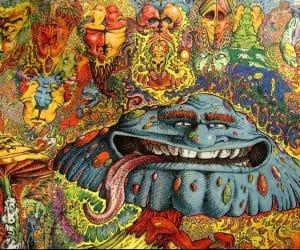 De la cornul secarei la LSD si arta psihedelica 1