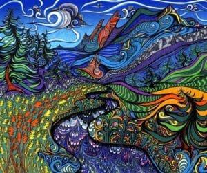 De la cornul secarei la LSD si arta psihedelica 10