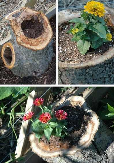DIY buturuga ghiveci pentru flori