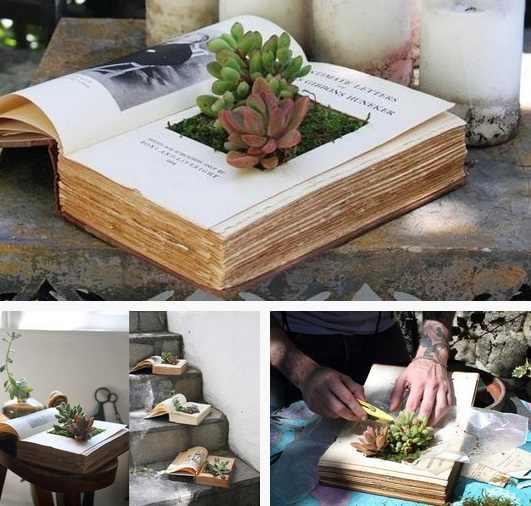 DIY carte ghiveci de flori