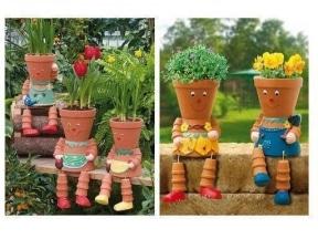 DIY ghivece de flori creative