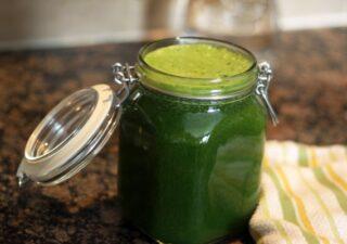 prazul ingredient pentru sucurile verzi - sucul de praz