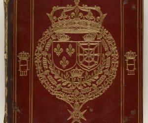 coperta CodexParisinus Graecus 2036