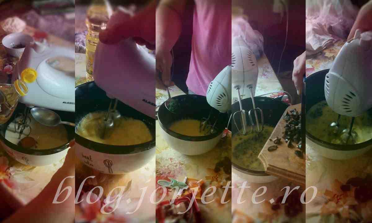 briose aperitiv - mixam lapte oul uleiul mararul maslinele