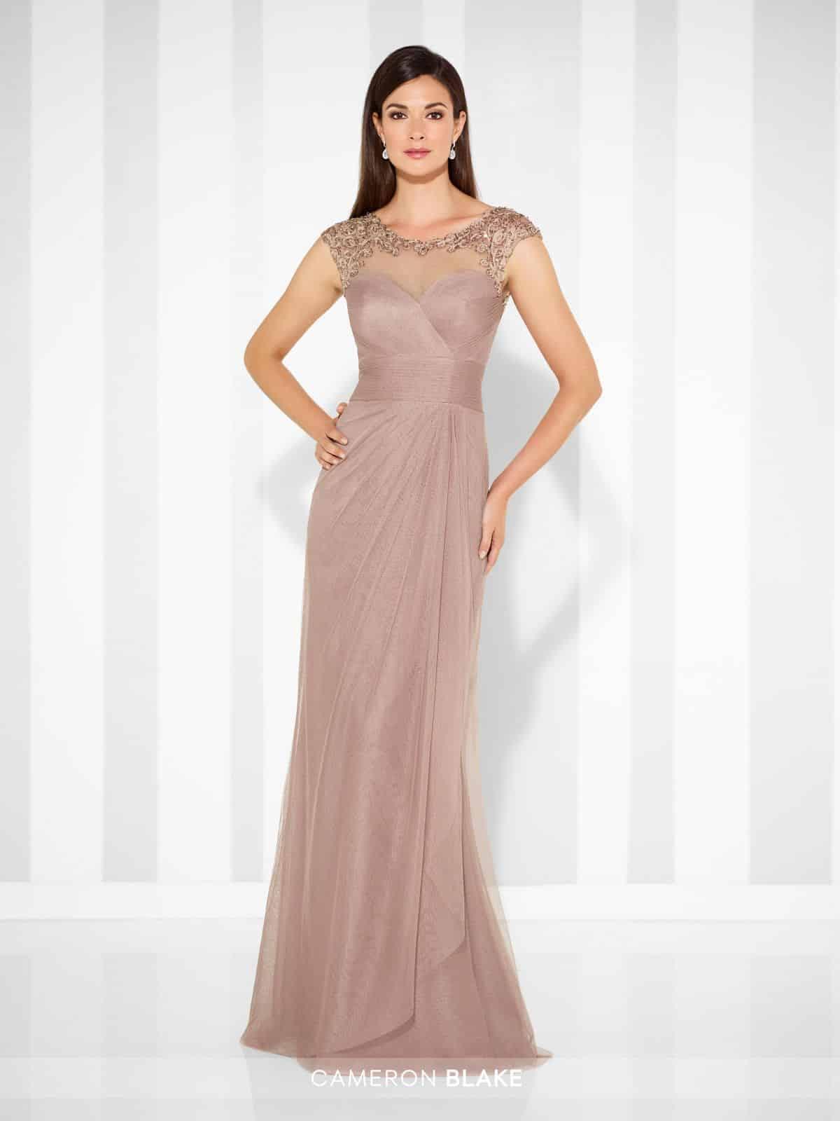 "Model de rochie de ocazie semnata de ""Mon Cheri"""