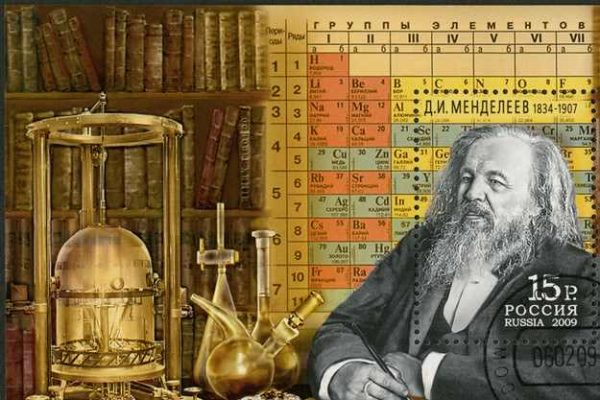 Dimitri mendeleev tabelul lui mendeleev