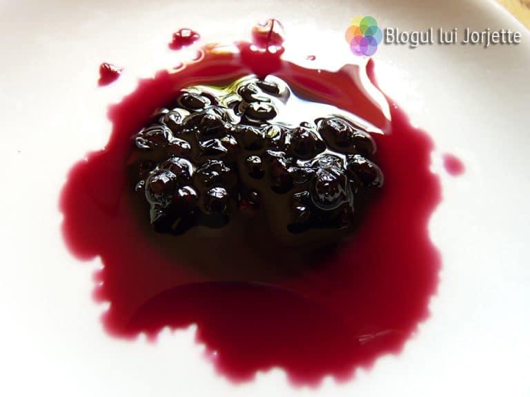 Dulceata din fructe de soc - bobite