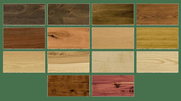 Obiecte de mobilier din lemn masiv