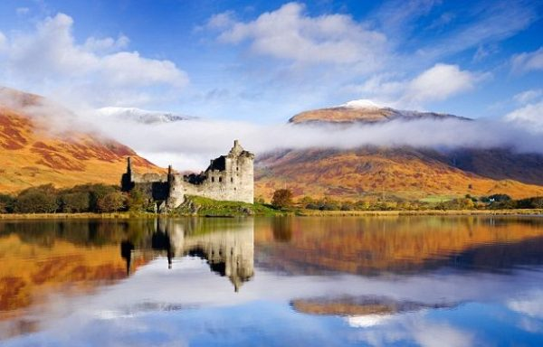 Loch awe in scotia