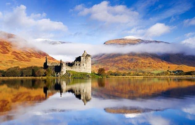 Loch awe in scotia - locatii turistice din Marea Britanie