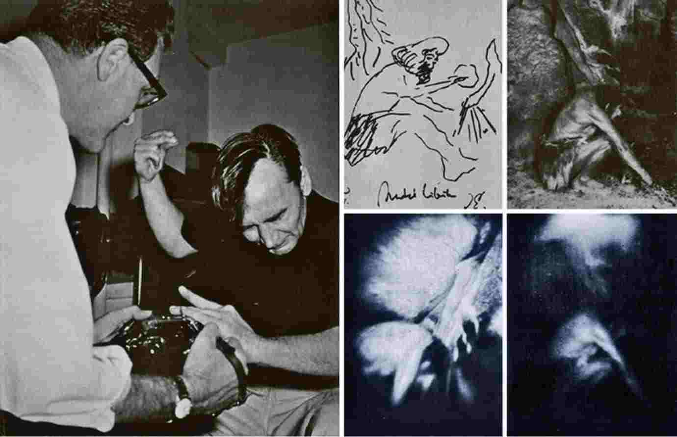Ted serios 1968 fotografie paranormala omul din neandertal