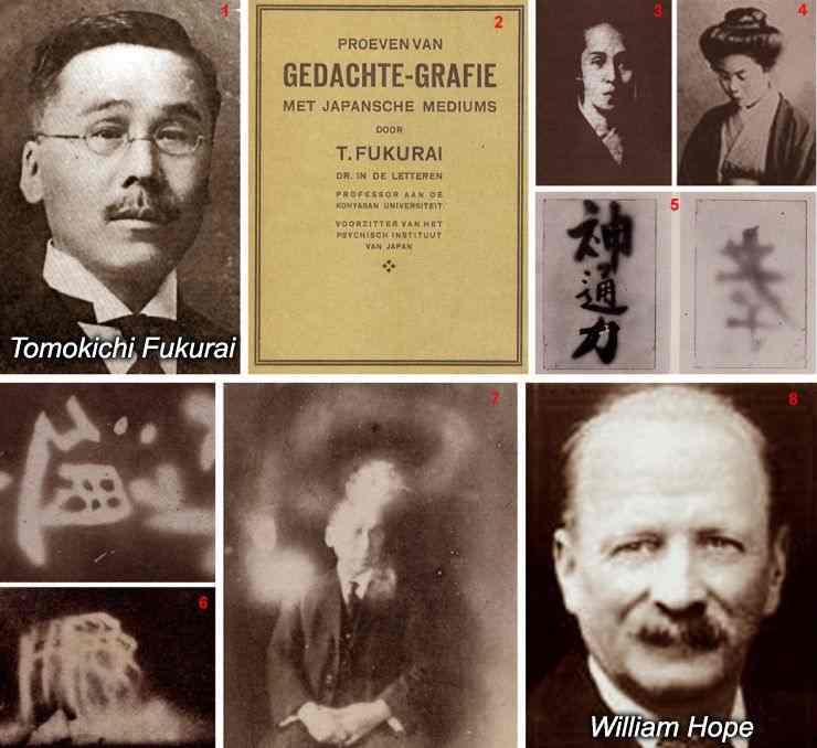 Tomokichi fukurai fotografie paranormala japonia 1910