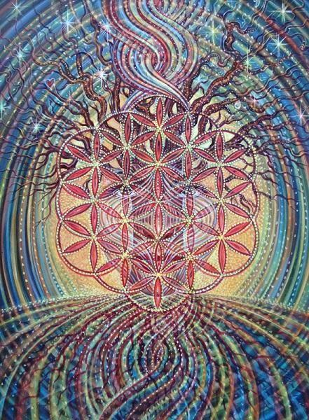 Simbolul floarea vietii