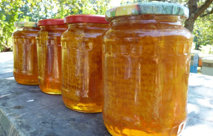 Fagure de miere in miere de albine naturala