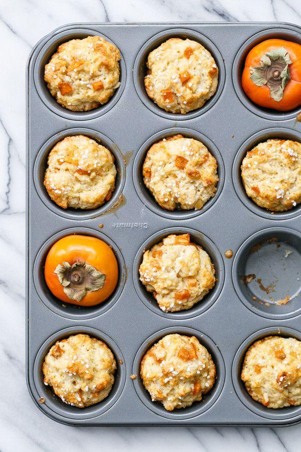 Muffins cu kaki