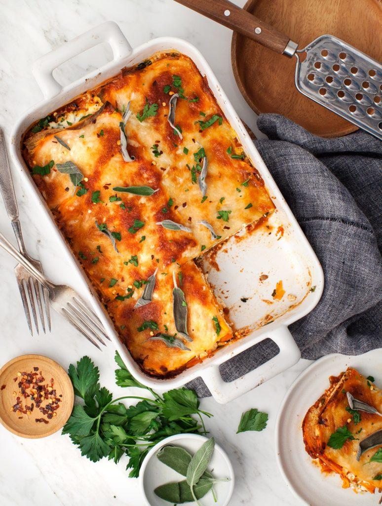 Lasagna cu cartofi dulci