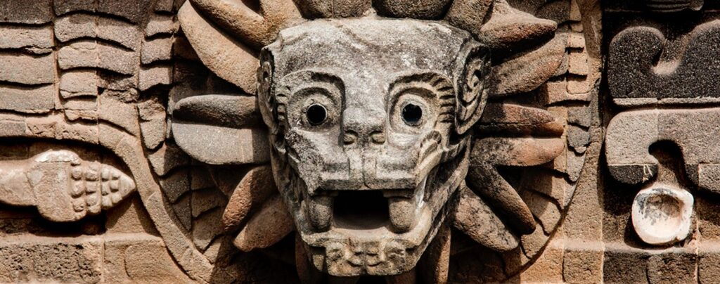 Zeul sarpe quetzalcoatl al aztecilor